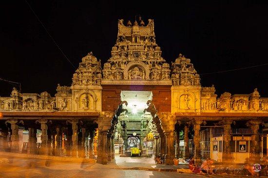 Tiruchendur, India: front view
