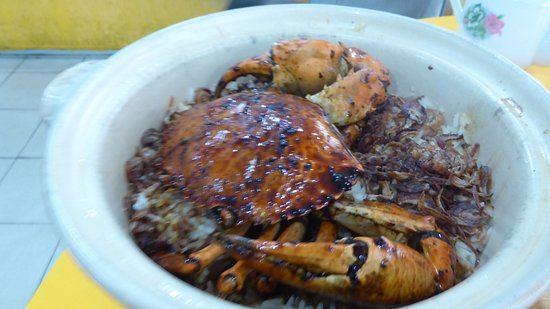 Wilayah Persekutuan, Malasia: Claypot rice with crab