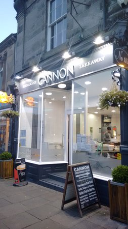 Restaurants cannon fish restaurant in northumberland with for Cannon fish company