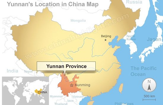 map yunnan Picture of Hiking with Lijiang Guides Private Tours