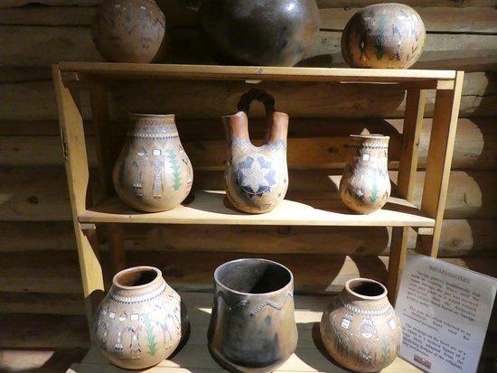 Explore Navajo Interactive Museum: traditionally pottery
