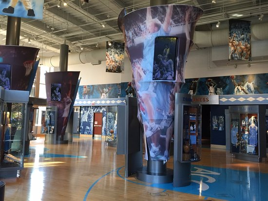‪The Carolina Basketball Museum‬