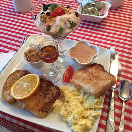 Temiscouata-sur-le-Lac, Canada: Best breakfast ever, made with love! 💖