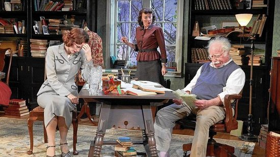 TheaterWorks: the current play, Relativity by Mark St.Germain, starring Richard Drefuss, Lori Wilner