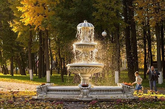 Central Park of Culture and Recreation of Vladimir City