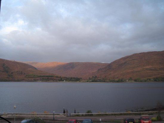 Clan Macduff Hotel: View from room 36