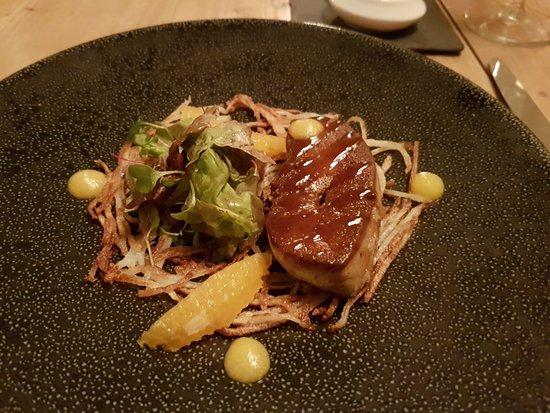 Knowstone, UK: Fois gras