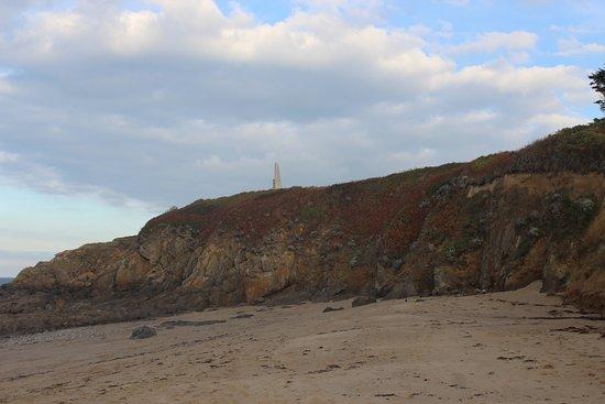 Plage de la Mare: vu de la plage