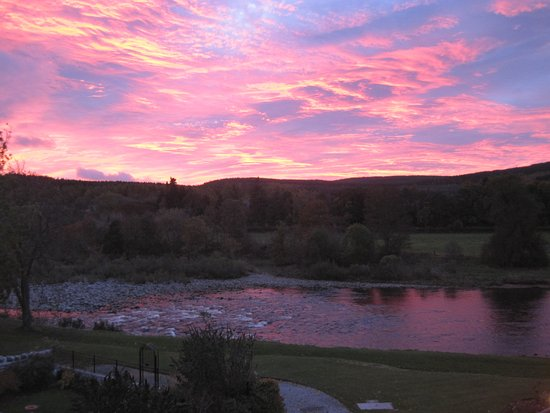 Banchory, UK: Morning view from bedroom