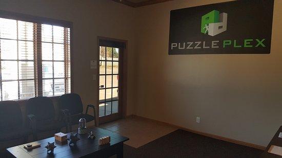 Derby, KS: Puzzle Plex Lobby