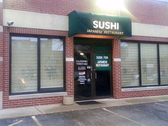 San Soo Gab San Korean Restaurant & Sushi House : Additional entrance to sushi part of the San So Gab San Korean Restaurant & Sushi House