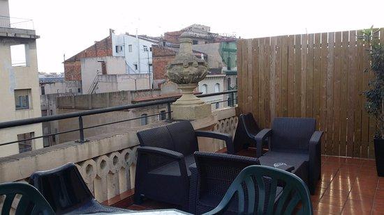 Apartments Gran Via: Terrace