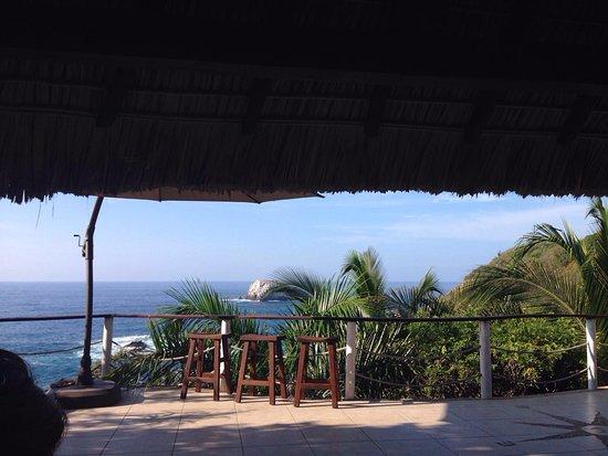 Casa Sol Zipolite: Terrace view