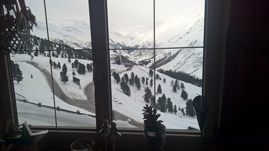 Hotel Angerer Alm: View from Breakfast