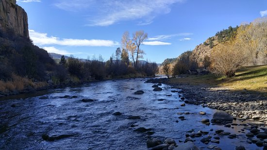 South Fork, CO: The River behind the house