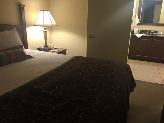 Staybridge Suites Orlando Airport South: Very comfy bed