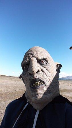 Twizel, Nueva Zelanda: selfie