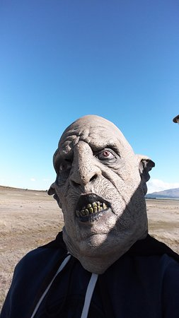 Twizel, นิวซีแลนด์: selfie