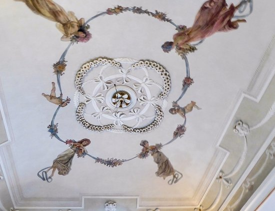 Antiche Volte: 19thC painted ceiling