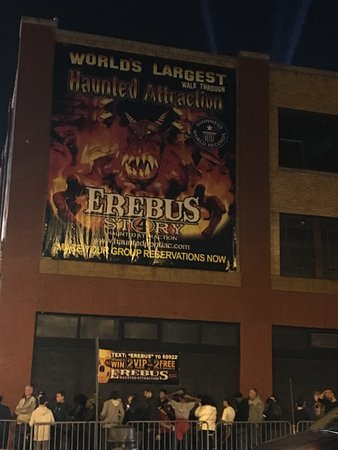 ‪Erebus Haunted Attraction‬