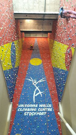 Awesome Walls Climbing Centre Stockport: The awesome wall