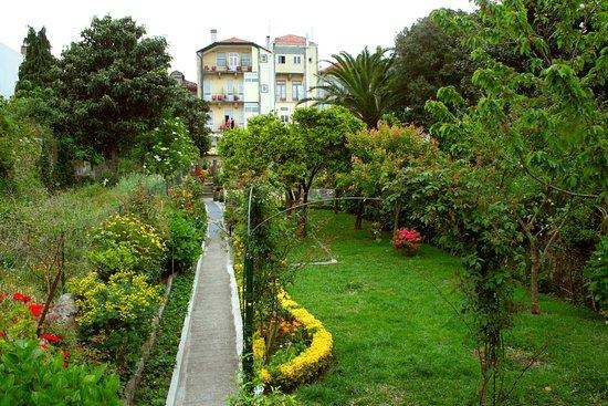 Hotel Estoril Porto: Back garden