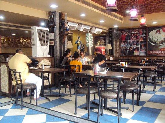 Brother's Amritsari Dhaba dining hall