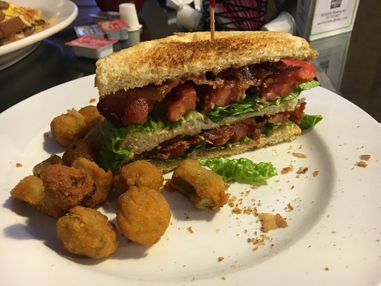 Brownsville, TN: Best BLT ever. Substituted orca for fries and it was also the best. All meals were amazing, quic