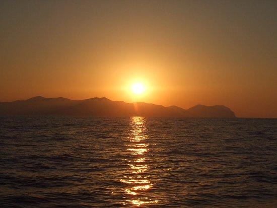 Collesano, Italy: tramonto