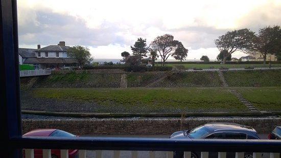 Riverside Cottage: Photo from our balcony