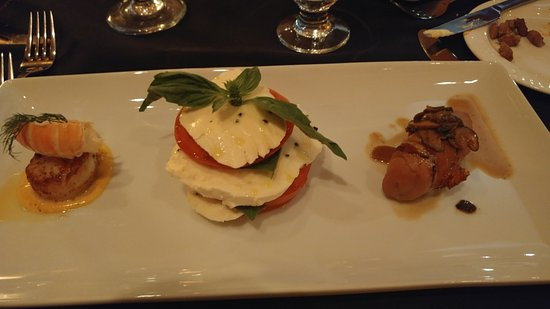 Il Salici at the Willows: antipasto, dish 3 of 7 courses