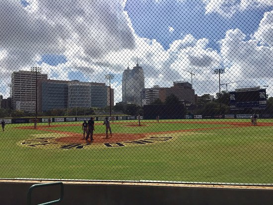 Rice baseball stadium Picture of Rice University Campus Houston