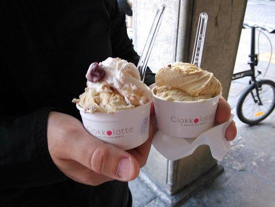Ciokkolatte - Il Gelato che Meriti: New York Cheesecake & Snicker + Tiramisù & Snicker