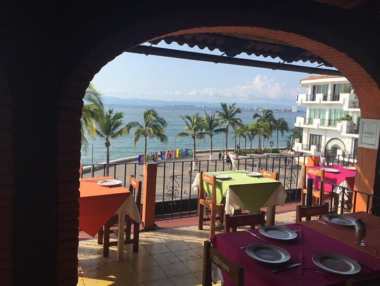 Viejo Vallarta: View from our table.