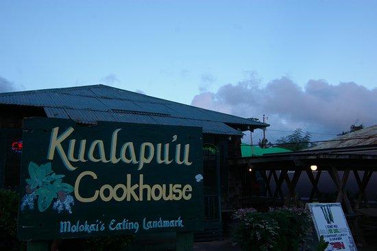 Kualapuu, ฮาวาย: The sign welcomes you