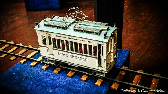 Quetzaltenango, جواتيمالا: Representación a escala del vagón de primera clase