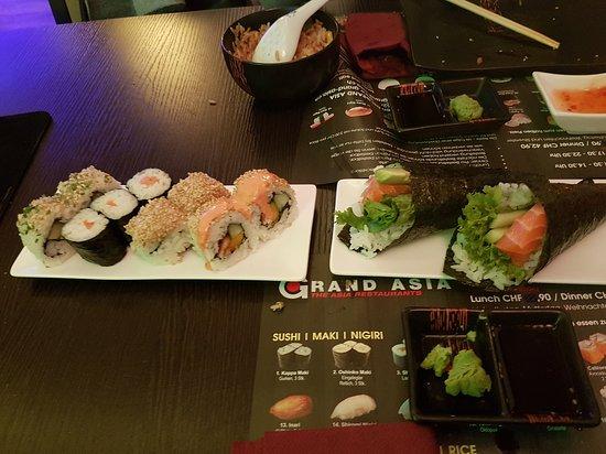 Gebenstorf, Schweiz: Bestes sushi im aargau super preisleistungsverhältnis! Super super..bald wieder!