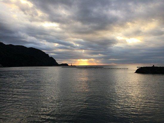 Matsuzaki Onsen : 夕陽が綺麗