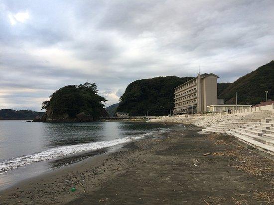 Matsuzaki Onsen : 海水浴場もある