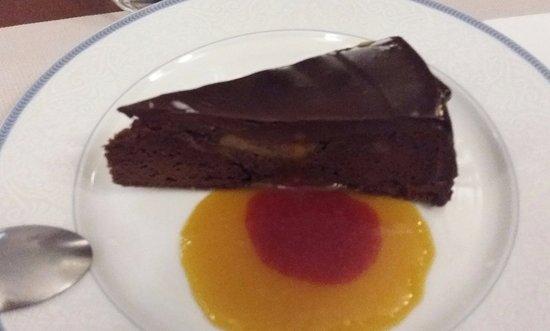 Pithiviers, Frankrijk: gâteau choco banane