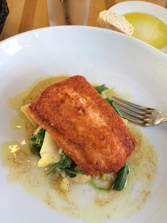 Fig Bistro: Salmon lunch entree