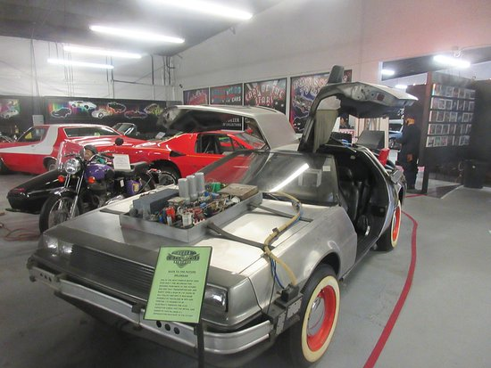 DeLorean Hollywood Cars Museum Las Vegas NV Picture Of - Car show vegas