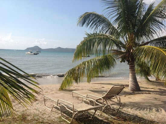 Newcastle, Nevis: St Kitts from Nevis