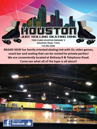 Houston Just Rolling Skating Rink