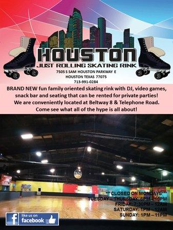 Houston Just Rolling Skating Rink