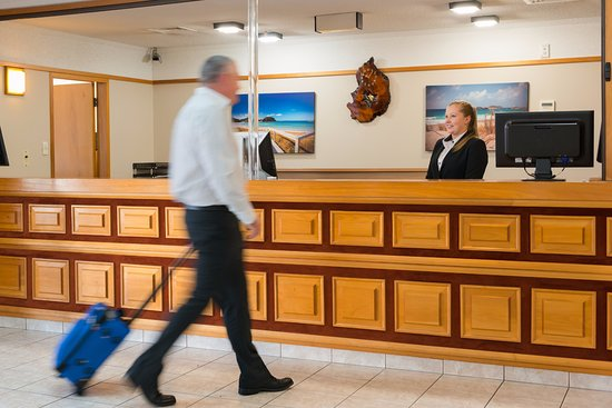 Distinction Whangarei Hotel & Conference Centre: Distinction Whangarei Hotel Reception
