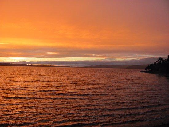 Esprit Whitewater Worldwide: Ottawa River near Pembroke, Ontario, Canada at sunset