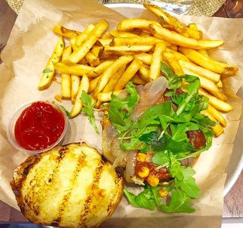 Williamstown, MA: The Black Bean Burger