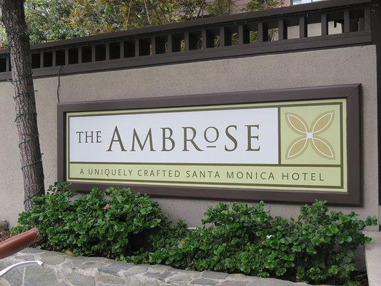 The Ambrose: The Sign outside