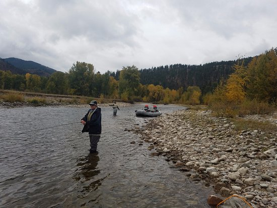 Hamilton, MT: Great day of floating and fishing in The Bitterroot Valley